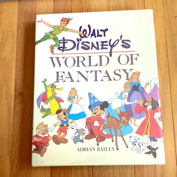 Disney Other - Walt Disney's world of fantasy, coffee table book